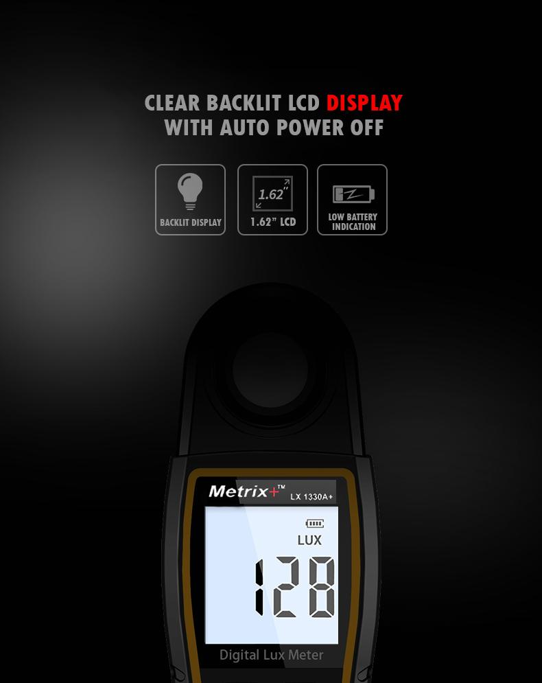 Digital Lux Meter LX 1330A+
