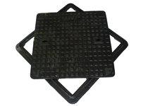 Ductile Iron Double Triangular Manhole Cover