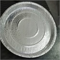 Laminated Silver Paper Plate
