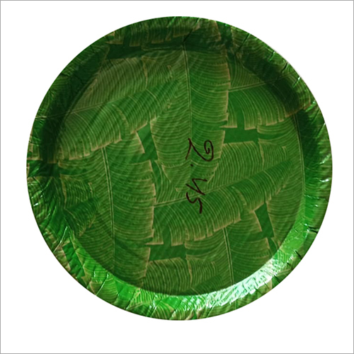 Laminated Paper Plate