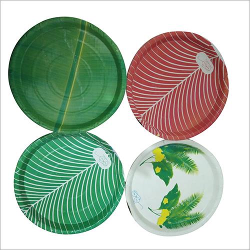 Laminated Multicolor Duplex Paper Plate