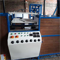 Semi Auto Thermacol Plate Making Machine