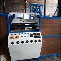 Semi Auto Thermacol Plate Making Machine