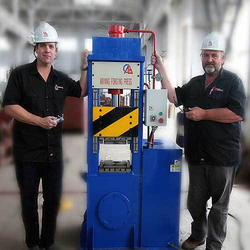 50 ton Hydraulic Forging Press for Blacksmith and Knife Maker