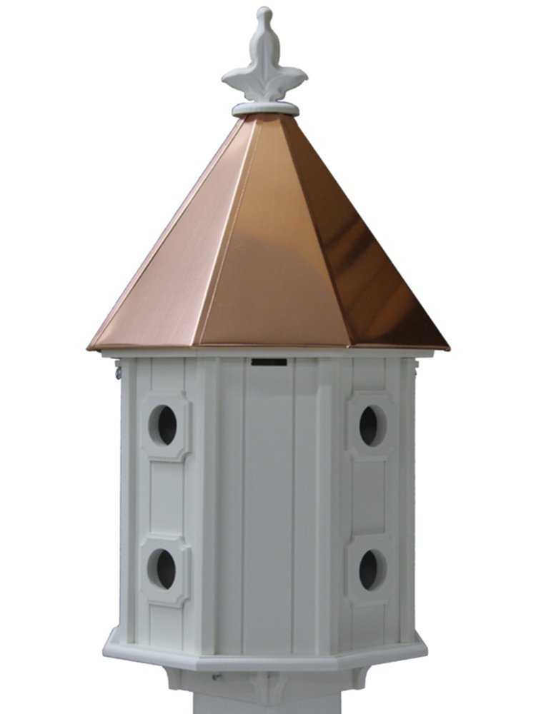 Bird House Copper Roof