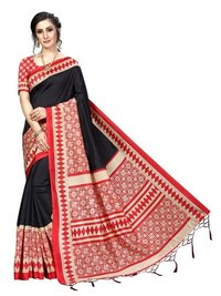 New Fancy Banarasi Art Silk Sarees (Jhalar)