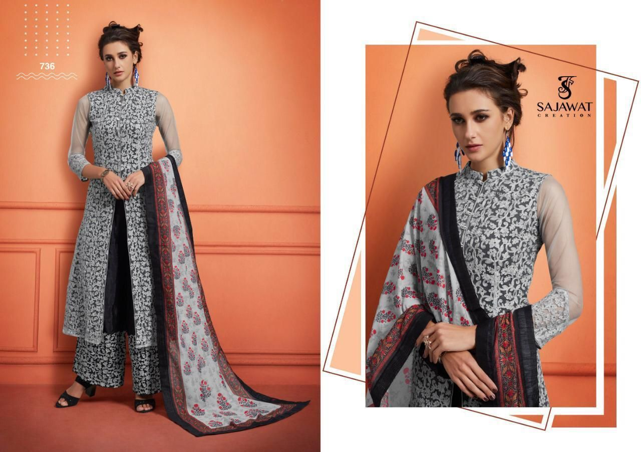 Ready made Designer Plazo Suits