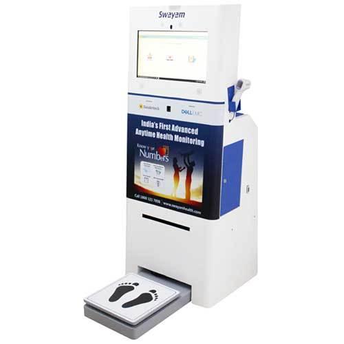 Anytime Health Monitoring Kiosk
