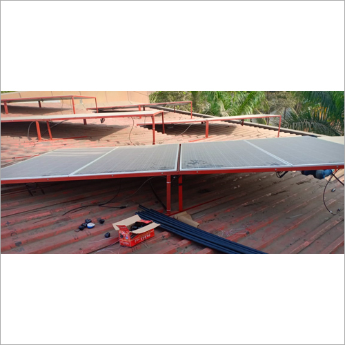 Roof Mounted Solar Power System