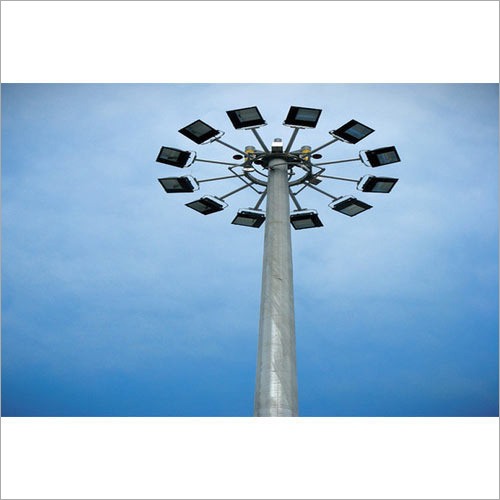 Outdoor High Mast Lighting Pole