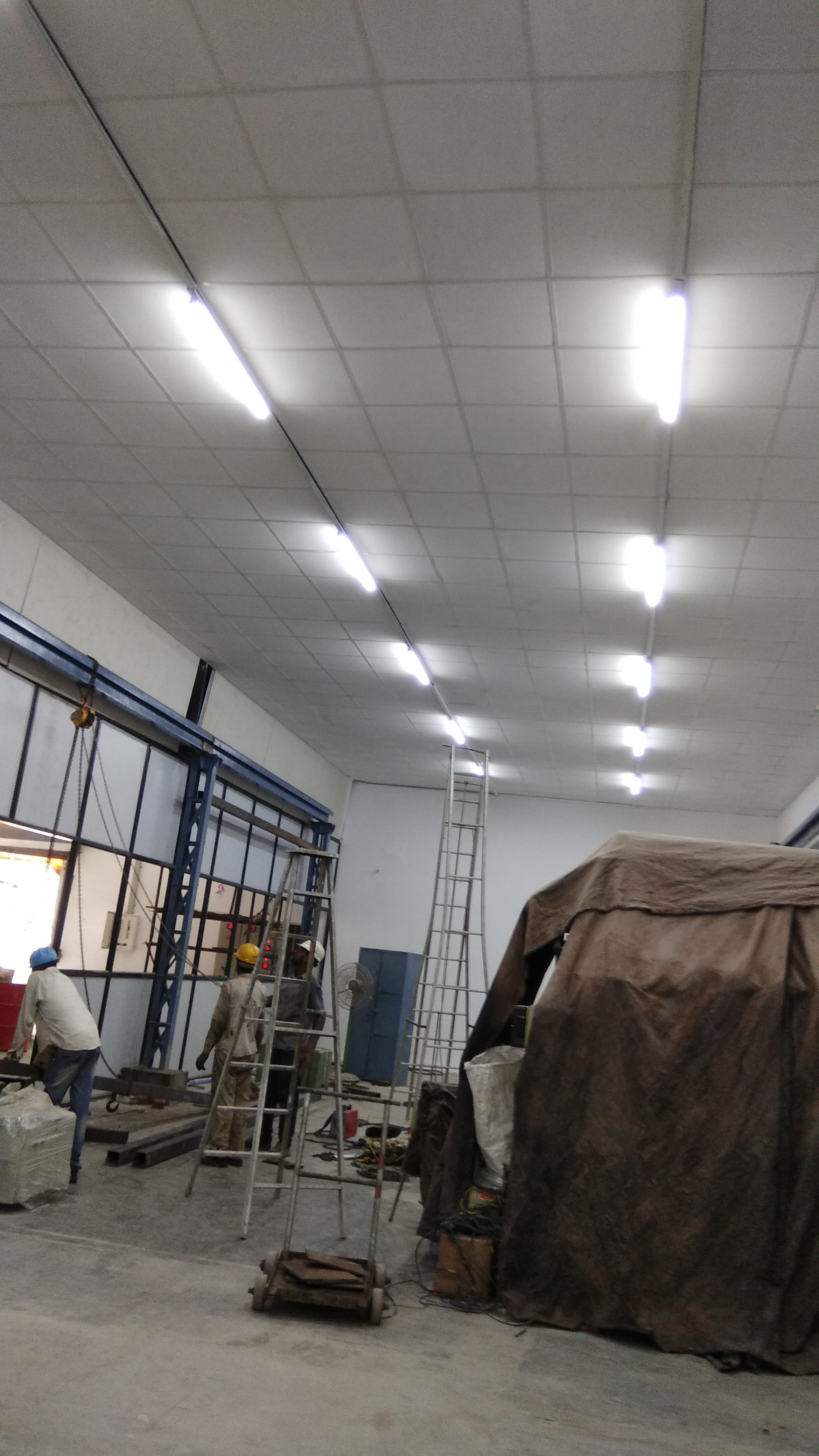 INDUSTRIAL FALSE CEILING