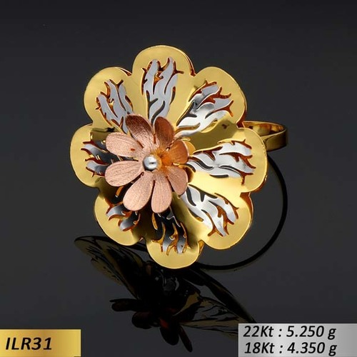 Circular Flower shape Ring