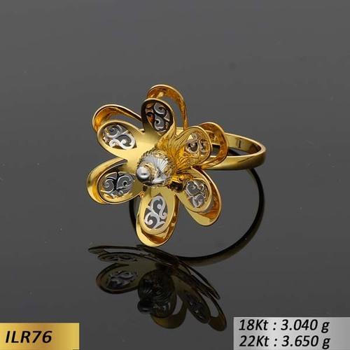 Hexagon Gold Ring
