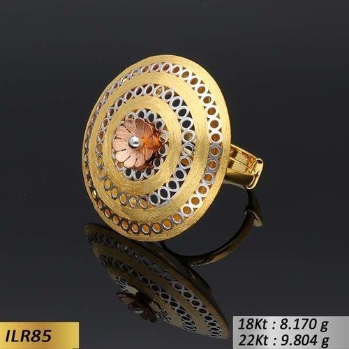 Circle Shape Gold Ring