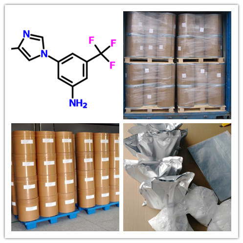 3-(4-Methyl-1H-imidazol-1-yl)-5-(trifluoromethyl)aniline CAS 641571-11-1