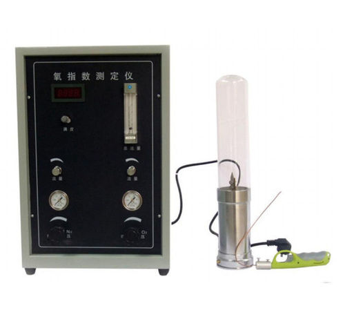 0.4 Measurement Accuracy Oxygen Index Testing Machine ASTM D2863 For Cables