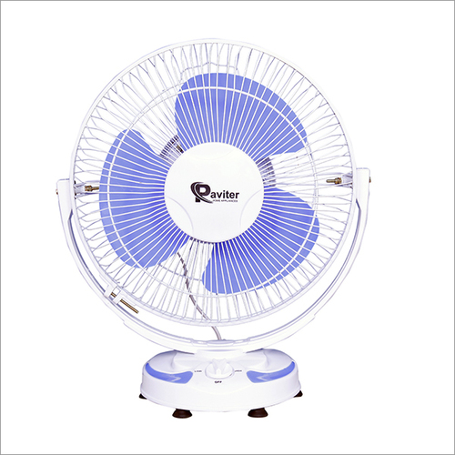 Rotary White Table Fan PVC Boady