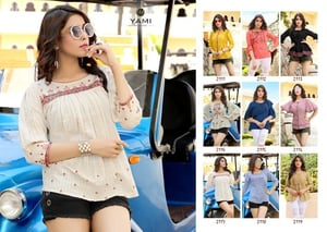 Rayon Embroidery Top