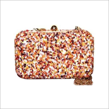 Glitter Sequin Clutch Bag