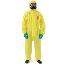 Chemical splash suit