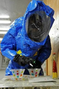 Chemical Splash Suit Level B