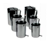 Stainless Steel Soak Forceps Bucket