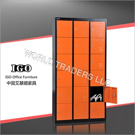 18 Doors Metal School Lockers