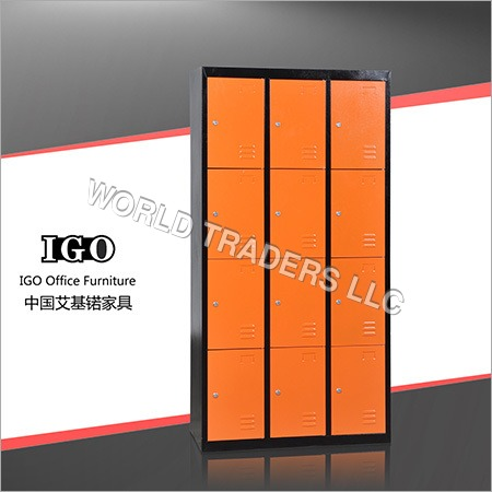 12 Doors Steel Gym Locker