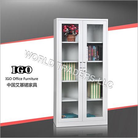 Glass Door File Cabinet