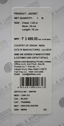 Barcode Sticker Printing