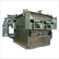 High Speed Double Paddle Mixer