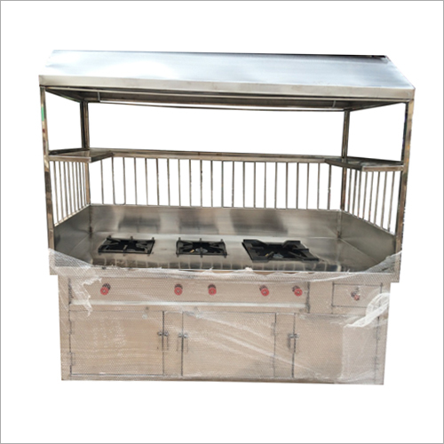 3 Burner Stove Cooking Range Counter