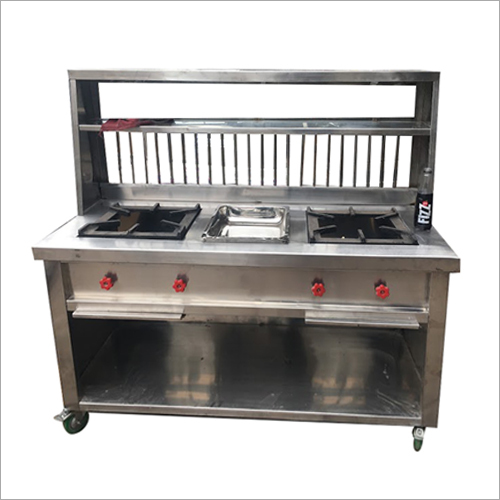 2 Burner Stove Cooking Range Counter