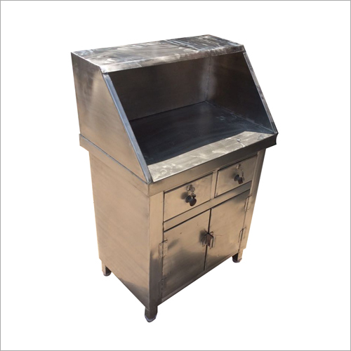 Stainless Steel Cash Counter Table