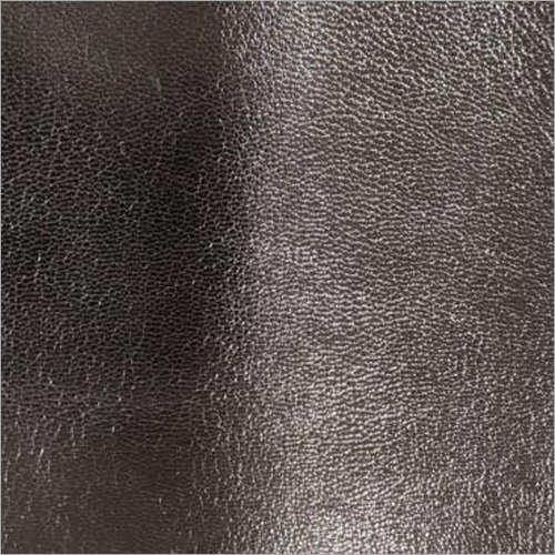 Black Genuine Leather Fabric