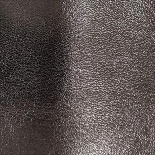 Black Genuine Leather Fabric