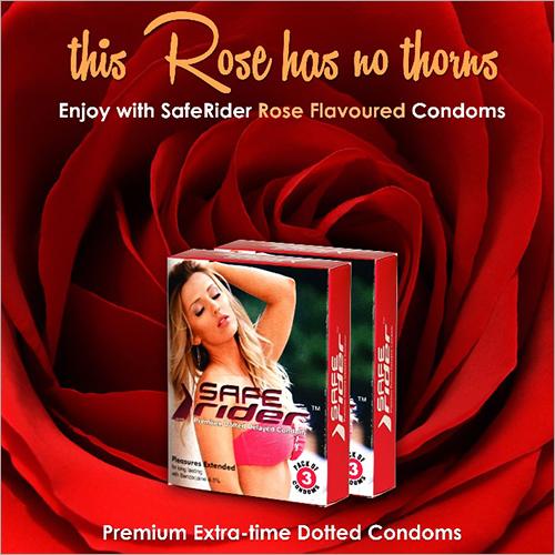 Rose Flavoured Condom