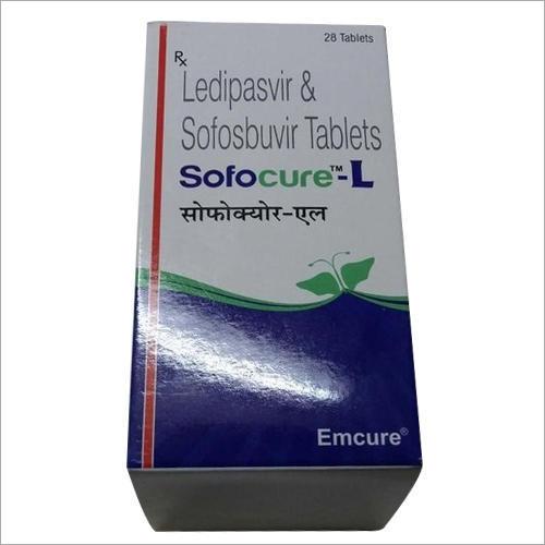 Sofocure L - Ledipasvir and Sofosbuvir Tablets