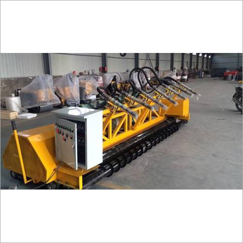 Fixed Form Concrete Paver Machine