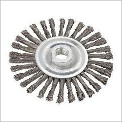 Shaft Mounted Abrasive Wheel Brush
