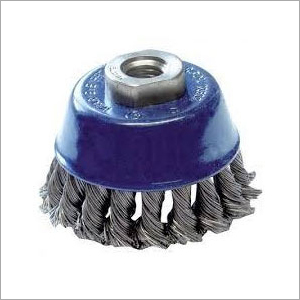 Knotted Cup Twist Brush