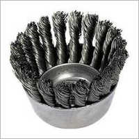 Knotted Wheel Brush