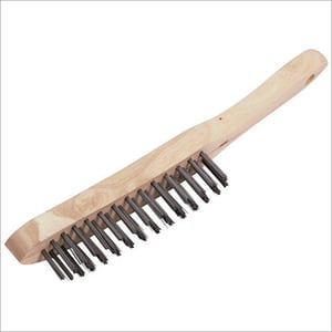 SS Non Magnetic Handle Wire Brush