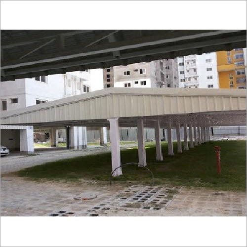 Residential Housing Car Parking Shed