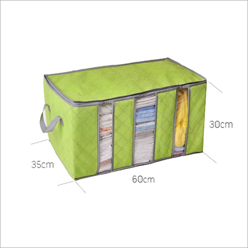 3 Partition Folding Storage Organizer (Random Colors)