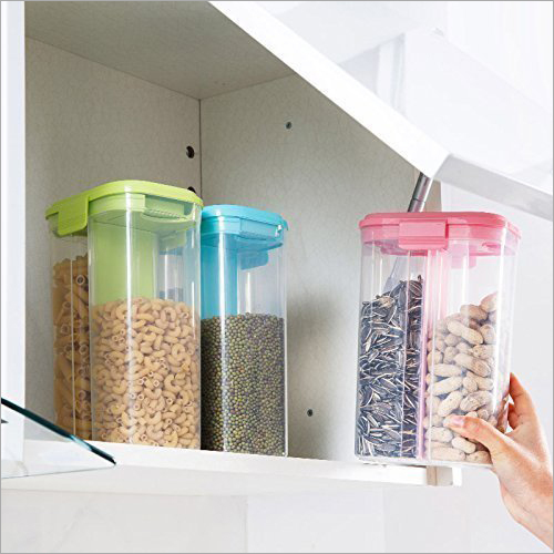 2 in 1 Kitchen Storage Container with Clip Lock