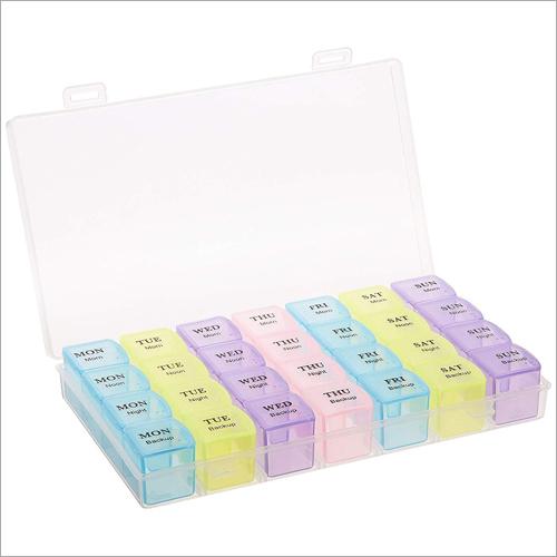 28 Grids Pill Medicine Box