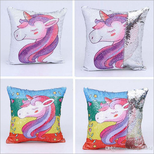 Color Changing Pillow Printed