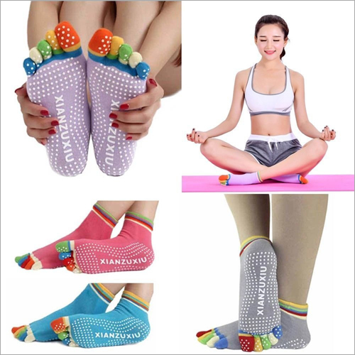 Yoga Gym Nonslip Socks