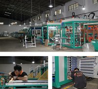 high speed Plastic Blister Packing Thermoforming Machine